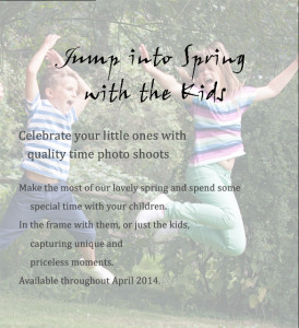 Jump Into Spring with the Kids